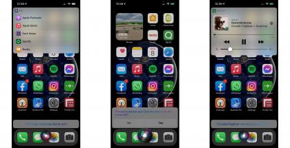Näin Siri voi tarjota eri sovelluksia oletuksiksi. Kuva: 9to5Mac.