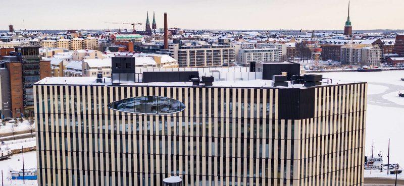 Supercellin uusi pääkonttori Helsingin Jätkäsaaressa.
