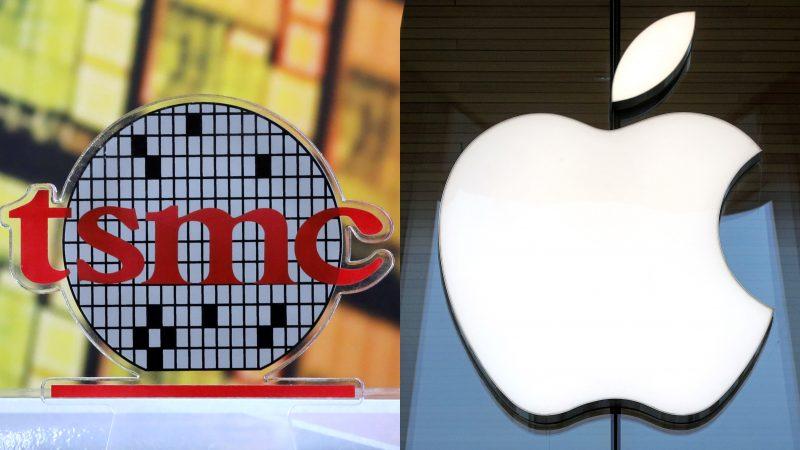 TSMC + Apple logot.
