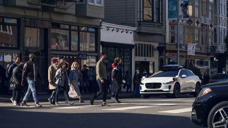 Waymo-auto San Franciscossa.