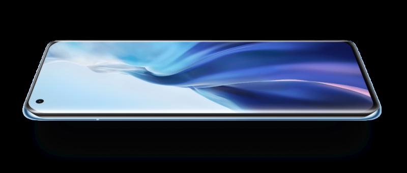 Mi 11 sisältää 6,81 tuuman AMOLED-näytön.