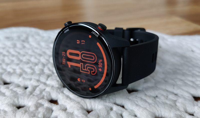 Xiaomi Mi Watchin näyttö on hyvä.
