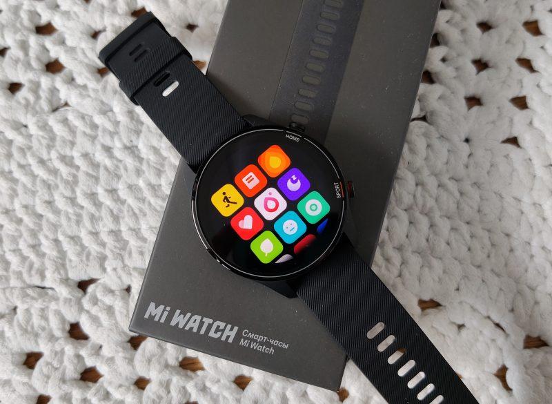 Xiaomi Mi Watch.