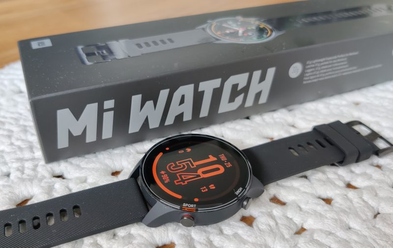 Xiaomi Mi Watch on hintaisekseen hyvä älykello.