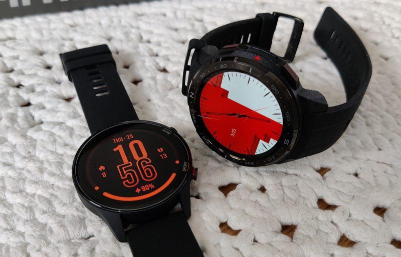 Xiaomi Mi Watch, Huawei Watch GT 2 ja Honor Watch GS Pro ovat nyt samanhintaisia. Kuvassa Mi Watch ja Honor GS Watch Pro.
