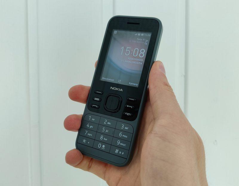 Nokia 6300 4G on peruspuhelin muutamalla älytoiminnolla.