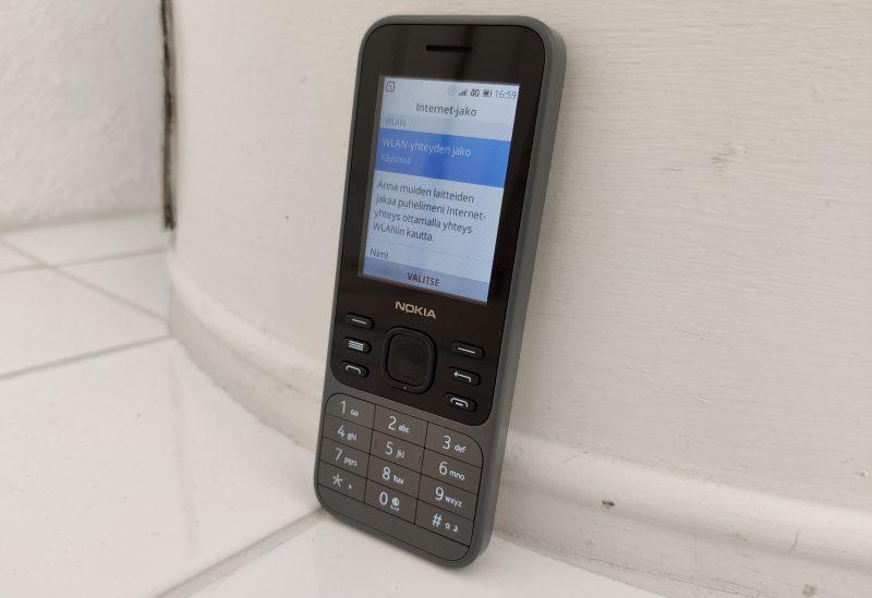Nokia 6300 4G muuttuu nopeasti toimivaksi ja luotettavaksi Wi-Fi-yhteyspisteeksi.