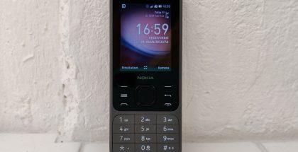 Nokia 6300 4G toimii sujuvasti ja hoitaa perustoiminnot hienosti.