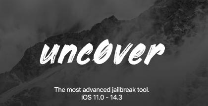 Unc0ver-jailbreak toimii nyt iOS 14.3 -versioon asti.