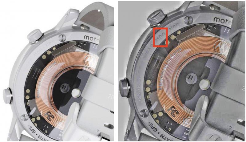Uusi Motorola-älykello voi sisältää Snapdragon Wear 4100 -piirin.