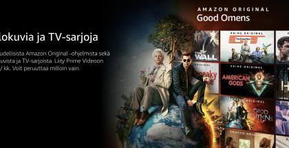 Amazon Prime Video on tarjolla Suomessa 5,99 euron kuukausihinnalla.