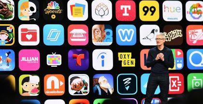 Applen App Store -liiketoiminta kohtaa nyt uhkia monesta eri suunnasta. Kuvassa toimitusjohtaja Tim Cook.