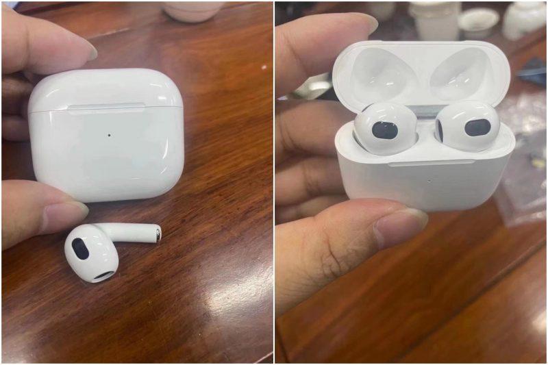 Applen 3. sukupolven AirPods-kuulokkeet? Kuvat jakoi Twitterissä LeaksApplePro.