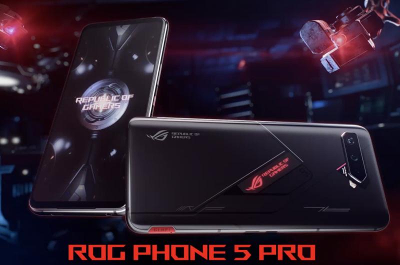 Asus ROG Phone 5 Pro.
