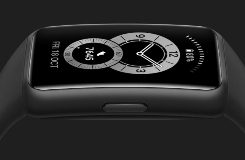 Painikkeita Huawei Band 6:ssa on vain yksi.