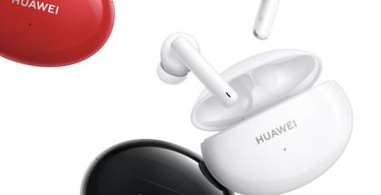 Huawei FreeBuds 4i -kuulokkeet on varustettu myös aktiivisella taustamelun vaimennuksella.