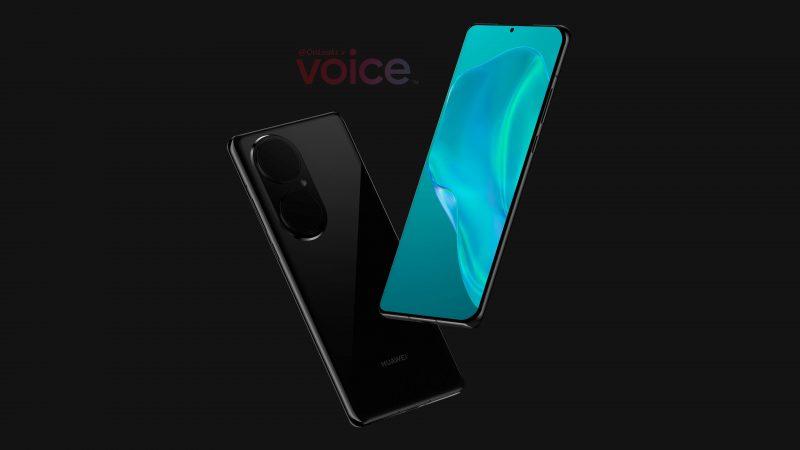 Muuten kuin takakamera-alueeltaan mahdollinen P50 Pro on varsin perinteisen muotoinen moderni huippupuhelin. Kuva: Steve Hemmerstoffer / Voice.