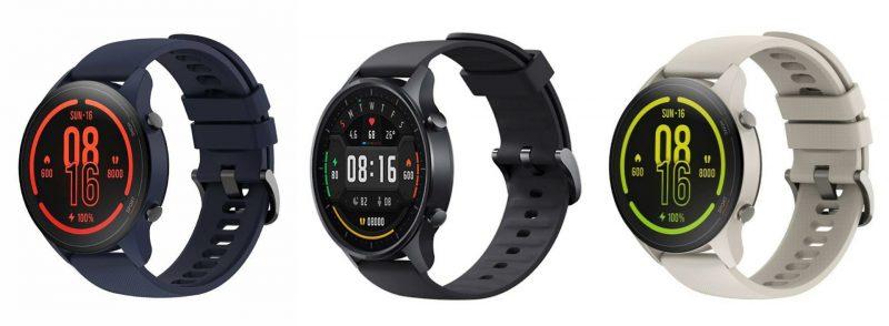 Xiaomi Mi Watchin värivaihtoehdot.