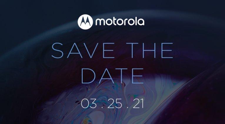 Motorola on vahvistanut julkistuksen 25. maaliskuuta.