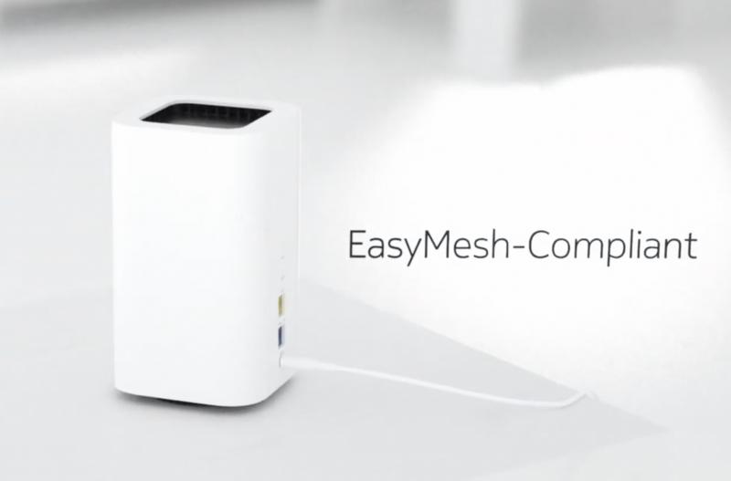 Beacon 2 tukee EasyMesh-yhdistämistä.