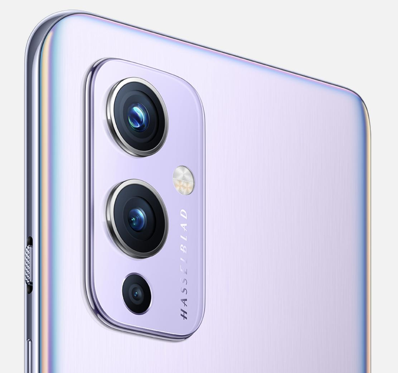 OnePlus 9:ssä on kolme takakameraa.