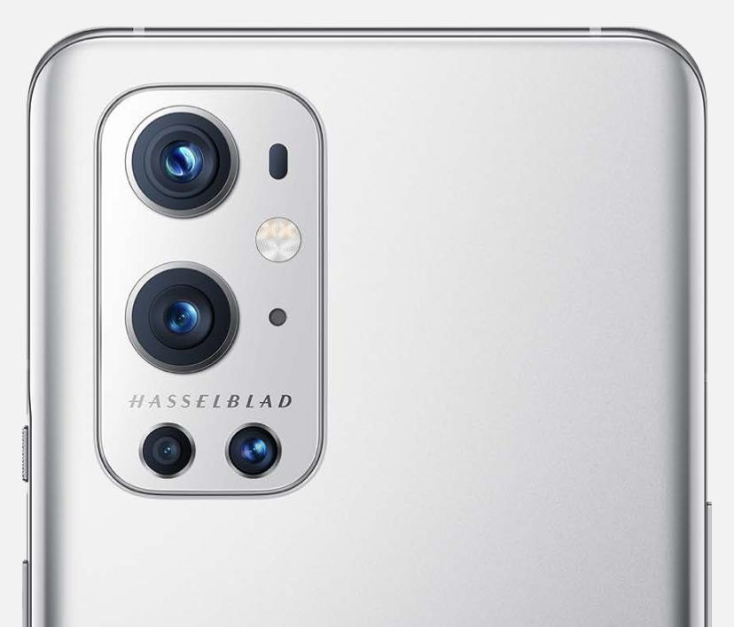 OnePlus 9 Prossa on neljä takakameraa.