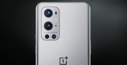 Kuvankaappaus OnePlussan julkaisemalta videolta. Tiettävästi tämä on OnePlus 9 Pro.