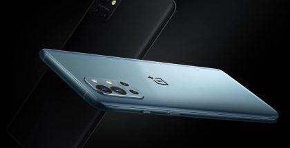 OnePlus 9R:n värivaihtoehdot.