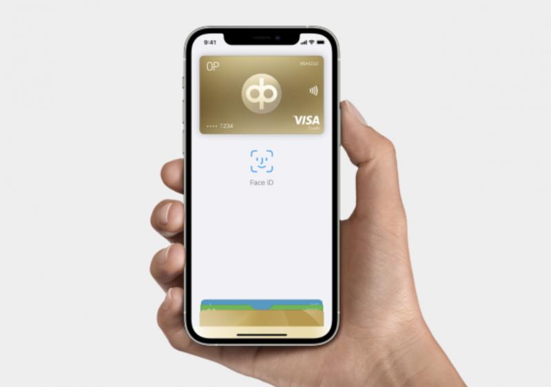 OP:n kortit voi pian ottaa käyttöön Apple Payssa.