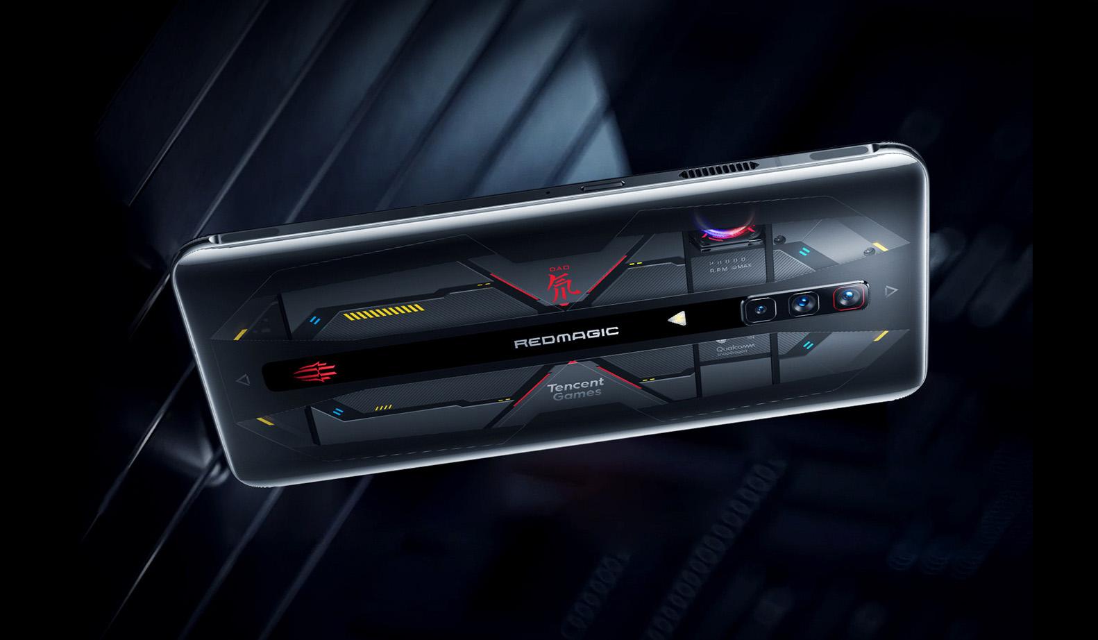 RedMagic 6 Pron läpinäkyvä erikoisversio.