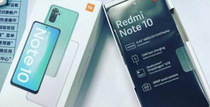 Redmi Note 10:n kuvavuoto vahvistaa teknisiä ominaisuuksia.