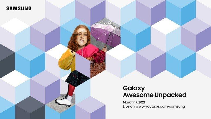 Samsung järjestää Galaxy Awesome Unpacked -julkistustilaisuuden 17. maaliskuuta.