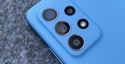 Vuoden 2021 Samsung-malleista optinen kuvanvakain on löytynyt jo esimerkiksi kuvan Galaxy A52 5G:stä.