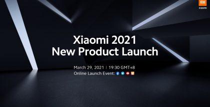 Xiaomi julkistaa uutta 29. maaliskuuta.