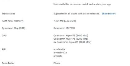 Xiaomi Mi 11 Lite 5G Google Play Consolessa.