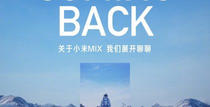 Xiaomin Mi MIX -sarja on saamassa jatkoa. Ennakko-odotuksista poiketen esittely tapahtuu vasta tiistaina.