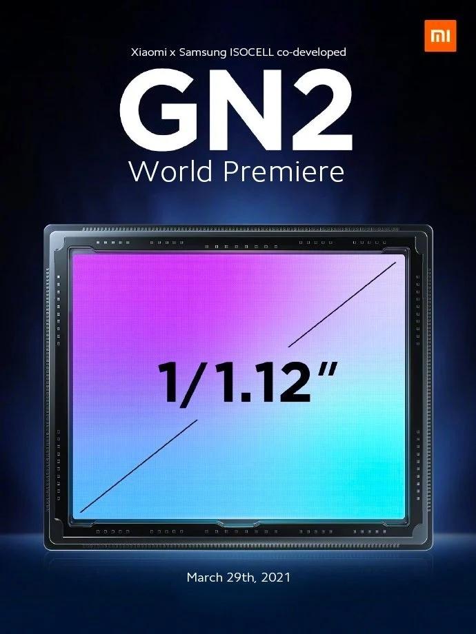 Xiaomi vahvisti ISOCELL GN2 -kamerakennon tulon.