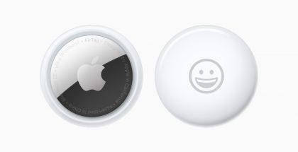 AirTagin voi myös kustomoida haluamallaan emoji-kuvalla tai lyhyellä tekstillä.
