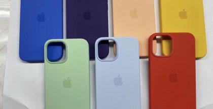 Uusia iPhone 12 -suojakuorten värejä. Kuva: Majin Bu / Twitter.