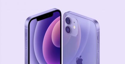 Violetti on uusi väri iPhone 12:lle ja iPhone 12 minille.