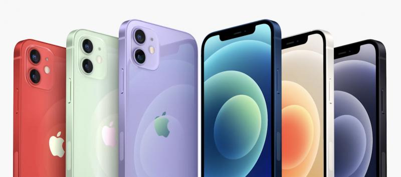 iPhone 12:n värivaihtoehdot laajenivat violetilla huhtikuussa.