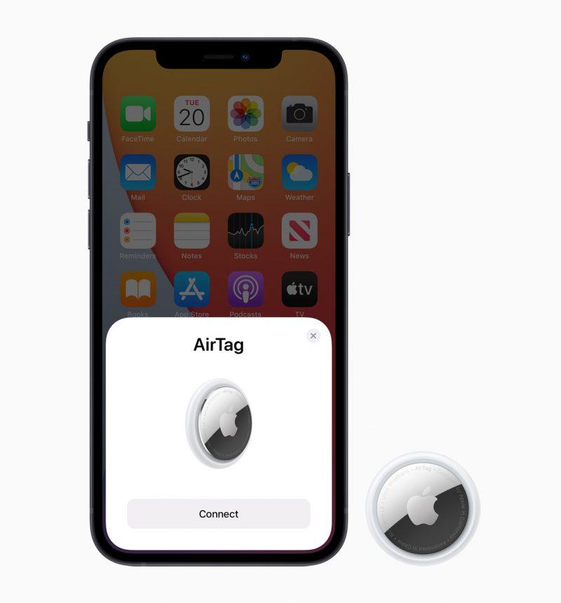 AirTag on helppo parittaa iPhonen ja Apple-käyttäjätilin kanssa.
