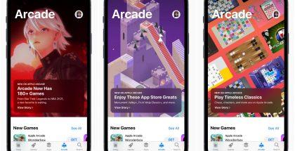 Apple Arcade tarjoaa nyt yhdellä tilausmaksulla yli 180 peliä, joissa ei ole mainoksia tai sovelluksen sisäisiä ostoja.