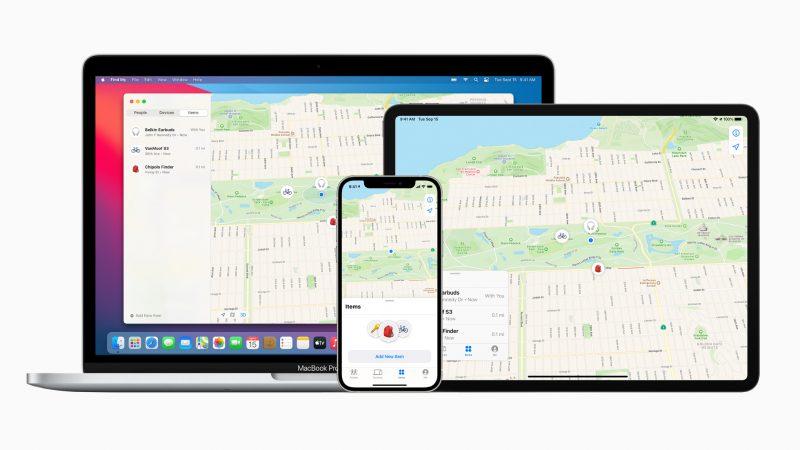 Applen Find My eli suomeksi Missä on...? -sovellus saa uuden Kohteet-välilehden.