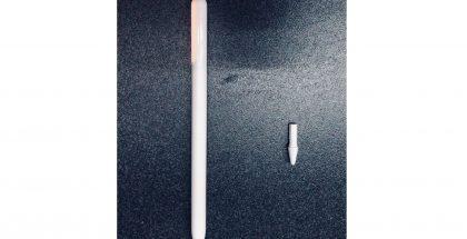 Väitetty uusi 3. sukupolven Apple Pencil aiemmassa vuotokuvassa.