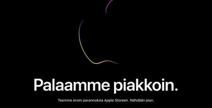 Applen verkkokauppa on jälleen sulkeutunut illan julkistusten edellä.