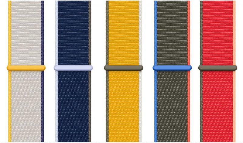 Sport Loop -ranneke - viisi uutta väriä.