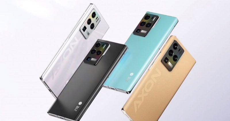 ZTE Axon 30 Ultran eri värivaihtoehtoja.