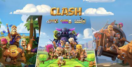Kolme uutta kehitteillä olevaa Supercellin peliä ovat Clash Quest, Clash Mini ja Clash Heroes.