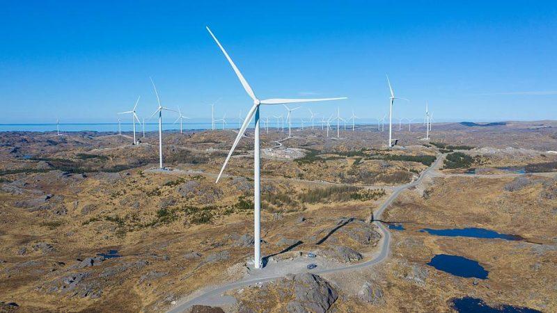 Facebookille sähköä tuottava tuulivoimapuisto Norjassa.